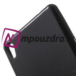 Matný gelový obal na Sony Xperia XA Ultra - černý - 5