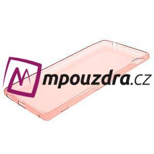 Ultratenký gelový obal na mobil Sony Xperia XA Ultra - červený - 5