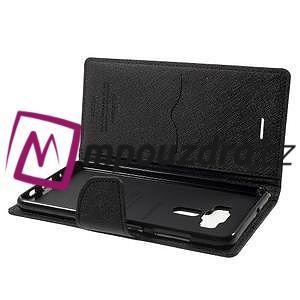 Diary PU kožené pouzdro na mobil Asus Zenfone 3 Deluxe - černé - 5