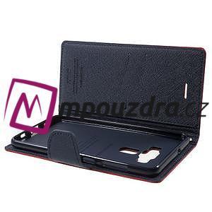Diary PU kožené pouzdro na mobil Asus Zenfone 3 Deluxe - červené - 5
