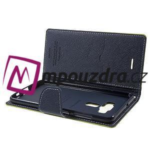 Diary PU kožené pouzdro na mobil Asus Zenfone 3 Deluxe - zelené - 5