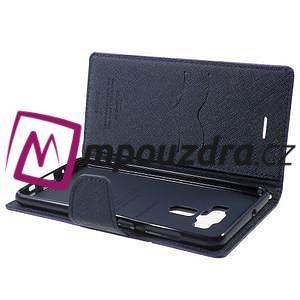 Diary PU kožené pouzdro na mobil Asus Zenfone 3 Deluxe - fialové - 5