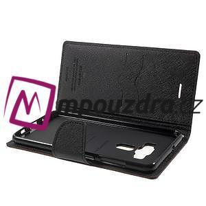 Diary PU kožené pouzdro na mobil Asus Zenfone 3 Deluxe - hnědé - 5