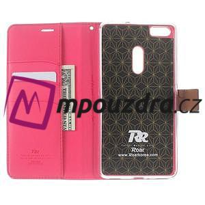 Diary peněženkové pouzdro na mobil Asus Zenfone 3 Ultra - rose - 5