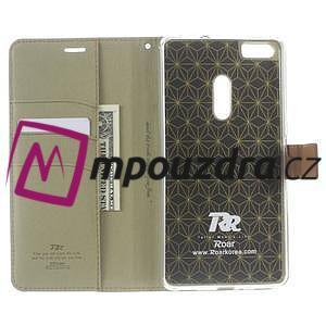 Diary peněženkové pouzdro na mobil Asus Zenfone 3 Ultra - khaki - 5