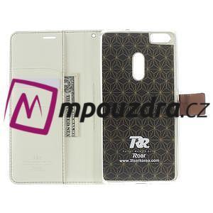 Diary peněženkové pouzdro na mobil Asus Zenfone 3 Ultra - bílé - 5