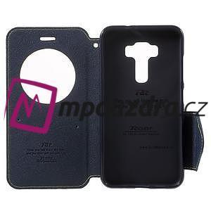 Diary pouzdro s okýnkem na mobil Asus Zenfone 3 ZE520KL - zelené - 5