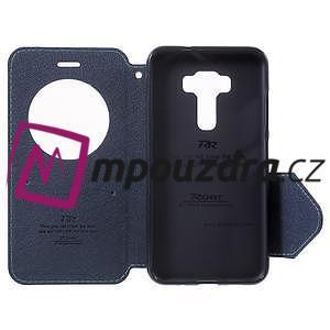 Diary pouzdro s okýnkem na mobil Asus Zenfone 3 ZE520KL - světlemodré - 5