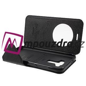 Diary pouzdro s okýnkem na mobil Asus Zenfone 3 ZE520KL - tmavěmodré - 5