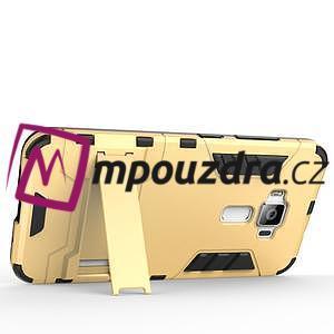 Odolný obal na mobil Asus Zenfone 3 ZE520KL - šedomodrý - 5