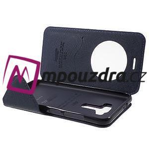 Diary pouzdro s okýnkem na mobil Asus Zenfone 3 ZE520KL - fialové - 5