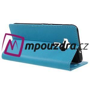 Leathy peněženkové pouzdro na Asus Zenfone 3 ZE520KL - světlemodré - 5