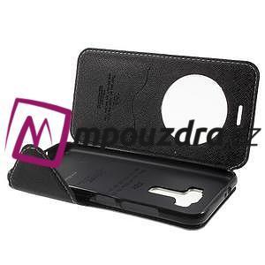 Diary pouzdro s okýnkem na mobil Asus Zenfone 3 ZE520KL - bílé - 5