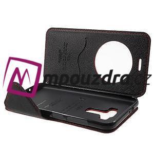 Diary pouzdro s okýnkem na mobil Asus Zenfone 3 ZE520KL - červené - 5