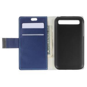 Peněženkové pouzdro na mobil BlackBerry Classic - modré - 5
