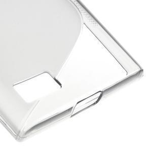 S-line gelový obal na mobil BlackBerry Leap - šedý - 5