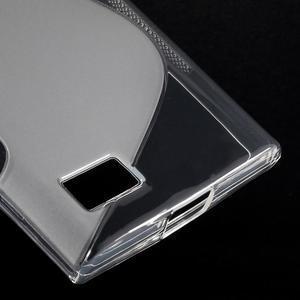 S-line gelový obal na mobil BlackBerry Leap - transparentní - 5