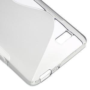 S-line gelový obal na mobil Honor 4C - šedý - 5