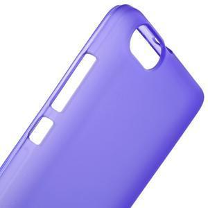 Matný gelový obal na Honor 4C - fialový - 5