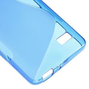S-line gelový obal na mobil Honor 4C - modrý - 5