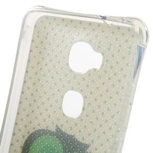 Drop gelový obal na Huawei Honor 5X - sovička - 5