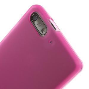Matné gélové puzdro na Huawei Ascned G6 - rosa - 5