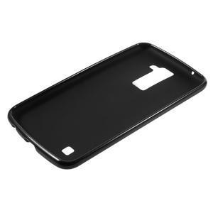 Matný gelový kryt na LG K10 - černý - 5