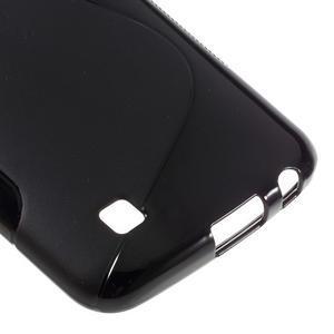 S-line gelový obal na mobil LG K10 - černý - 5
