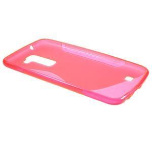 S-line gelový obal na mobil LG K10 - rose - 5