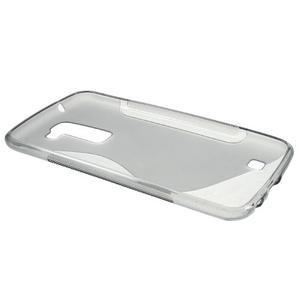 S-line gelový obal na mobil LG K10 - šedý - 5