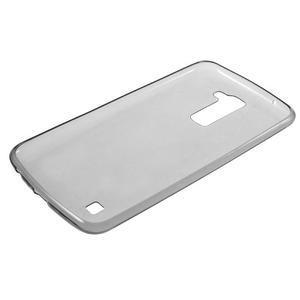 Ultratenký slim obal na LG K10 - šedý - 5