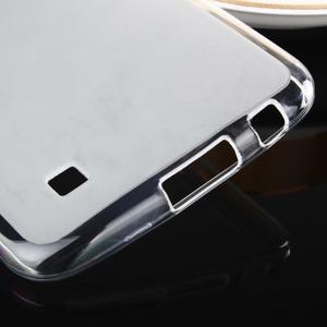 Stter matný gelový obal na mobil LG K10 - bílý - 5