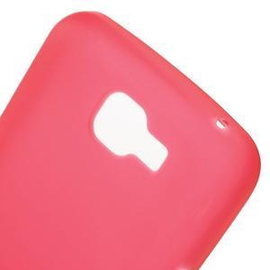 Antfing matný gelový kryt na LG K4 - červený - 5