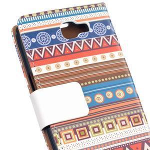 Style peněženkové pouzdro na LG K4 - tribal - 5