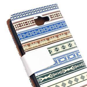 Style peněženkové pouzdro na LG K4 - ethnic - 5