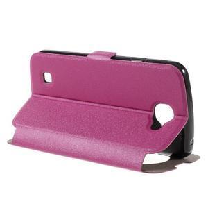 Trend pouzdro s okýnkem na mobil LG K4 - rose - 5