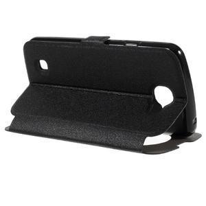 Trend pouzdro s okýnkem na mobil LG K4 - černé - 5