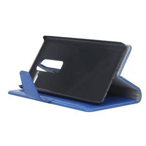 Sitt PU kožené pouzdro na mobil LG Zero - modré - 5