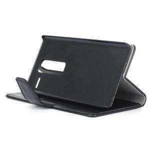 Sitt PU kožené pouzdro na mobil LG Zero - černé - 5