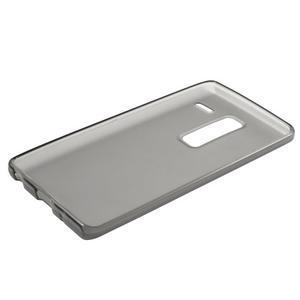 Matný gelový obal na mobil LG Zero - šedý - 5