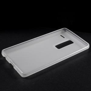 Matný gelový obal na mobil LG Zero - bílý - 5