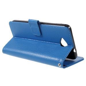 Funny peněženkové pouzdro na mobil Microsoft Lumia 650 - modré - 5
