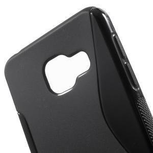 S-line gelové obal na mobil Samsung Galaxy A3 (2016) - černý - 5