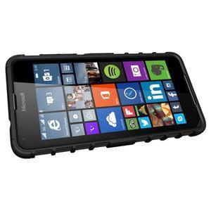 Outdoor odolný obal na mobil Microsoft Lumia 650 - černý - 5