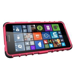 Outdoor odolný obal na mobil Microsoft Lumia 650 - rose - 5