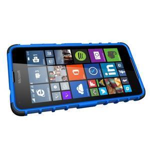 Outdoor odolný obal na mobil Microsoft Lumia 650 - modrý - 5