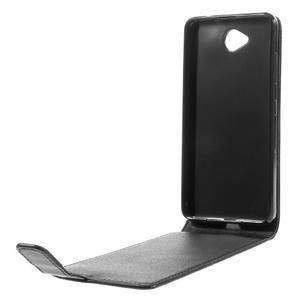 Flipové pouzdro na mobil Microsoft Lumia 650 - černé - 5