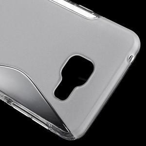 S-line gelové obal na mobil Samsung Galaxy A3 (2016) - transparentní - 5