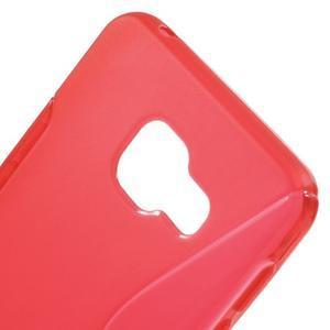 S-line gelové obal na mobil Samsung Galaxy A3 (2016) - červený - 5