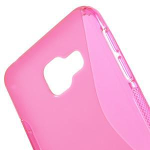 S-line gelové obal na mobil Samsung Galaxy A3 (2016) - rose - 5